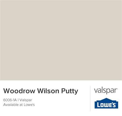 woodrow wilson putty from valspar caleb s new room