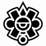Symbols Mayan Aztec Symbol Mexico Vector Icon