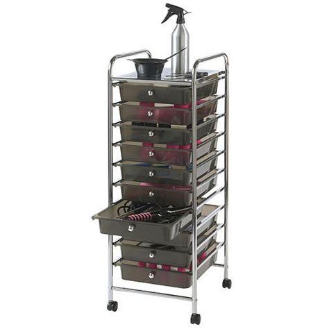 tesco direct vonhaus  drawer mobile storage trolley