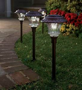 Garden path lights solar led pathway outdoor light