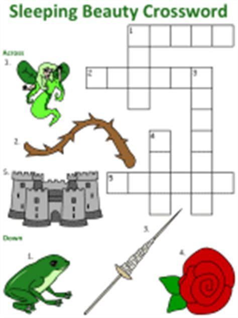 fairy tale  nursery rhyme crossword puzzles