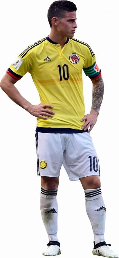 James Rodriguez Render Colombia Footyrenders Kit