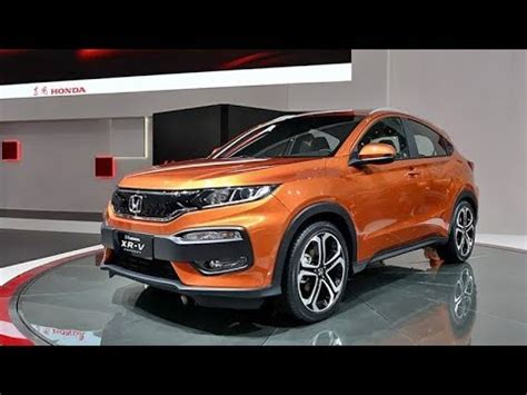 Review Honda Brv 2019 by Honda Br V 2019 Specs Review