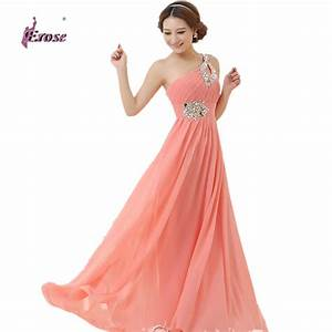 floor length chiffon long evening dress gown 2016 long With pink long dress for wedding