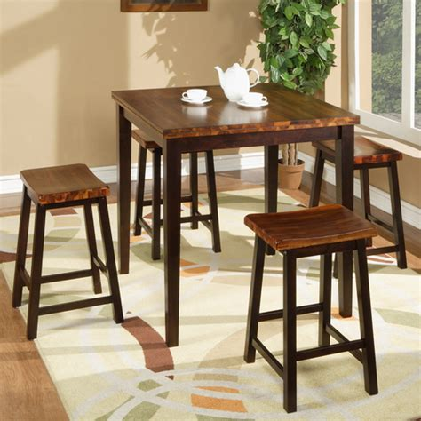 fifth avenue wood counter height dining table stools in