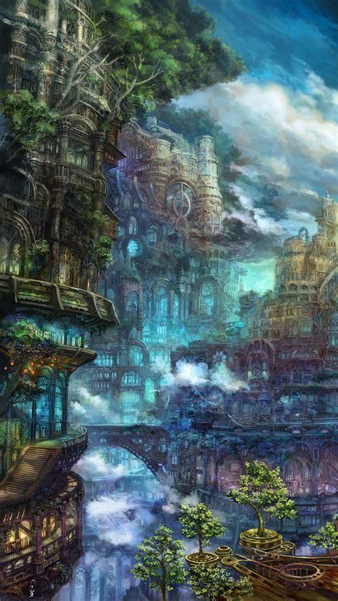 beautiful fantasy landscape iphone  wallpapers hd