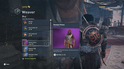 Assassins Creed Origins Outfit Unlock Guide
