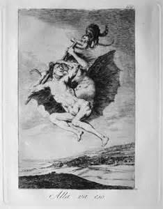Goya Etchings Los Caprichos
