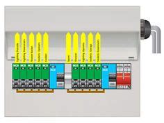 hager design 30 consumer unit 10 way rcbo board consumer units