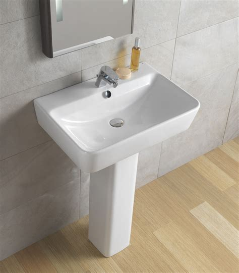 emma  ceramic bathroom pedestal sink  sinks gallery