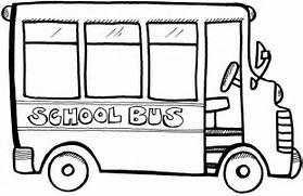 School Bus Drawing Template School bus visit   Bus Drawing