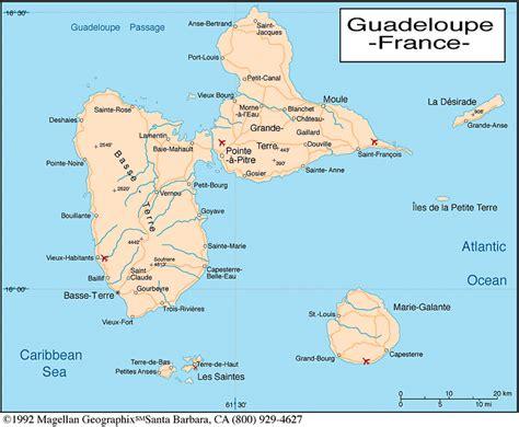 Carte Geographique Du Monde Guadeloupe by Carte Guadeloupe Carte Du Monde
