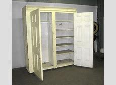 Small Portable Wardrobe Closet — Buzzard Film