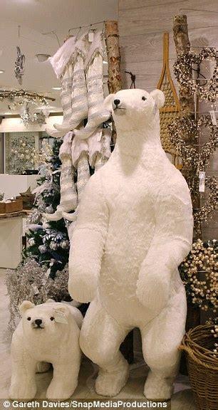 selfridges christmas shop   polar bears