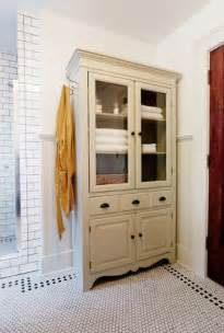 bathroom linen closet ideas tv armoir to linen cabinet traditional bathroom wichita by keep smiling home