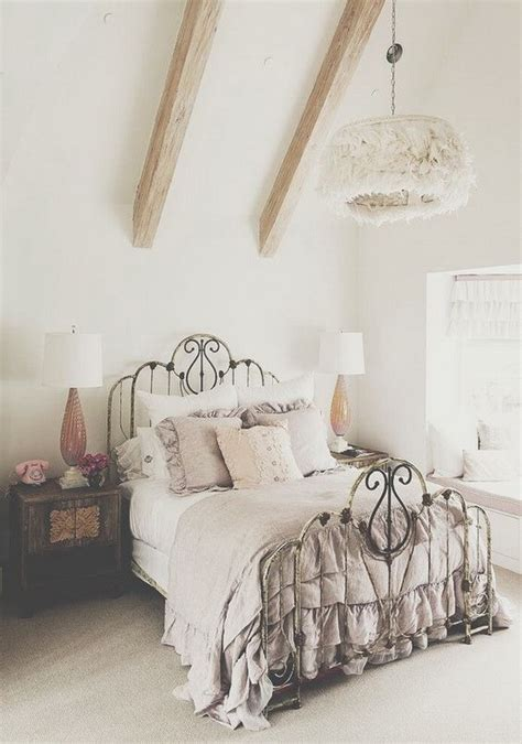 wrought iron bed decorating ideas 33 cute and simple shabby chic bedroom decorating ideas ecstasycoffee