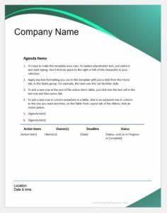 Secret Santa Templates Formal Meeting Minutes Template Word Excel Templates