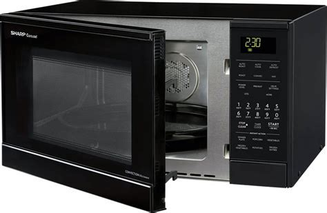 Sharp R830BK 0.9 cu. ft. Countertop Microwave Oven with