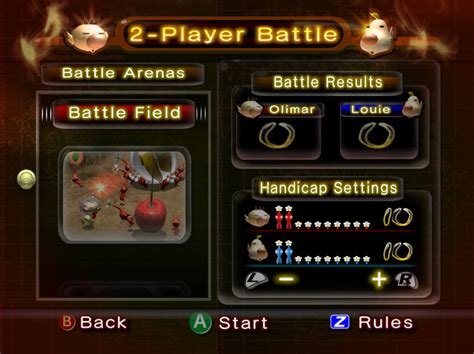 2 Player Battle Pikmin 2 Pikmin Wiki About Pikmin