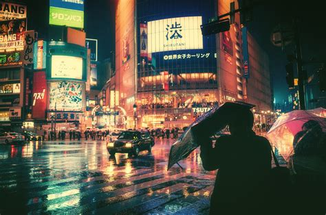 photography japan night shibuya wallpapers hd desktop