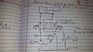 Circuit No  2  Control Of Double Acting Cylinder