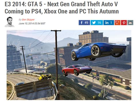 Next Gen Dev Meme - yes gta v is coming to pc and next gen consoles know your meme