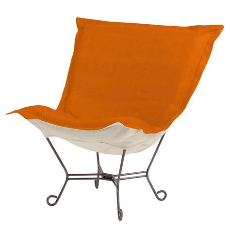 howard elliott puff chair sterling