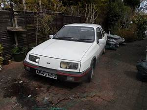 Ford Sierra Xr4i : ford sierra xr4i white with doner car for spares sold car and classic ~ Melissatoandfro.com Idées de Décoration