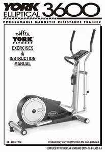 York Fitness 3600 Elliptical Exercises  U0026 Instruction
