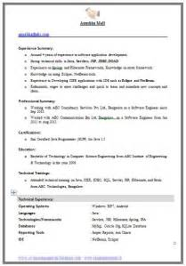 resume format for freshers computer engineers free download pdf exle template of an excellent computer science engineer experienced resume format with great