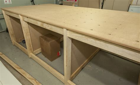build  cheap woodworking workbench   kreg hd