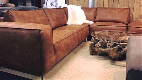 lederen lounge hoekbank exclusieve bankstellen en lifestyle meubelen mokana enschede