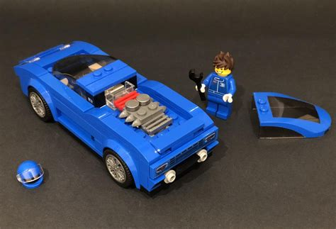 Bugatti vision in 8 wide speed champions style. LEGO IDEAS - Bugatti EB110 Lego Speed Champions