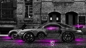 Mini Cooper and Porsche 997 Crystal City Car 2014 el Tony