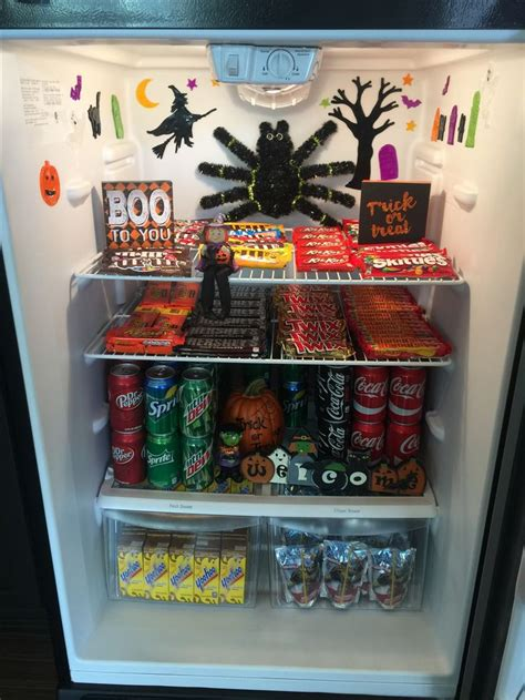 wow fridge   halloween theme resident  ideas