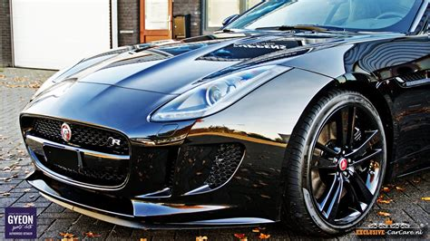 Gyeon Quartz Q2 Mohs+ Glas-coating On A Jaguar F-type R