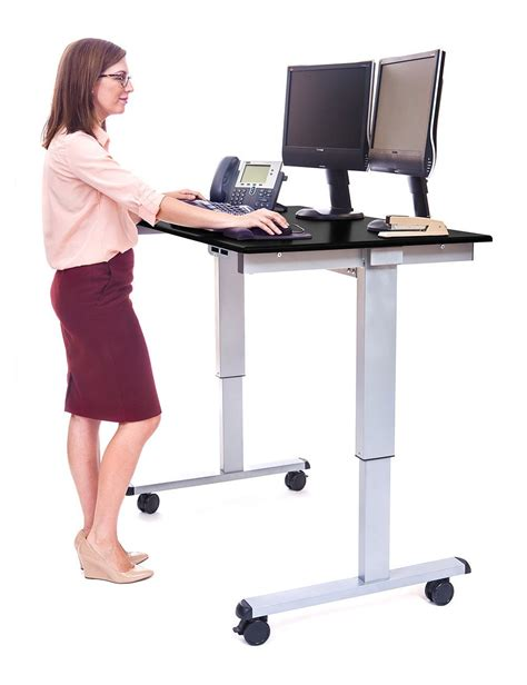 best electric standing desk the best standing desks with wheels for every budget