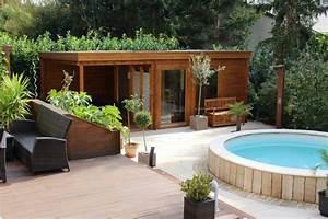 Gartenhaus Sauna Kombination : gartenm bel gartenhaus 6 terrassengestaltungsideen ~ Whattoseeinmadrid.com Haus und Dekorationen