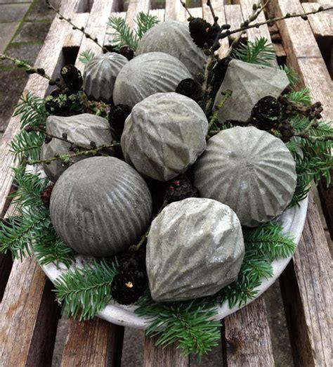 Weihnachtsdeko Für Garten Selber Machen by Basteln Mit Beton Zu Weihnachten Coole Weihnachtsdeko
