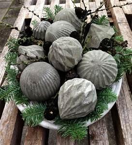 Coole Gartendeko Selber Machen : basteln mit beton zu weihnachten coole weihnachtsdeko selber machen freshouse ~ Orissabook.com Haus und Dekorationen