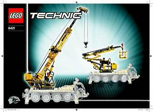 Lego 8421 Mobile Crane Guide D U0026 39 Installation