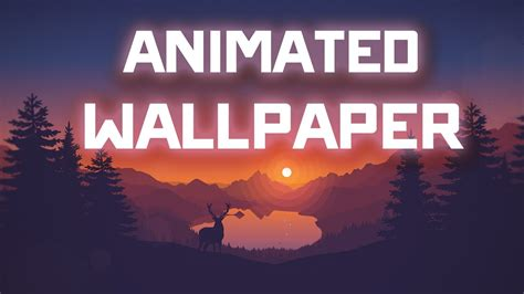How To Put Animated Wallpaper - animated wallpapers for pc how to get animated