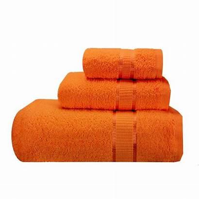 Bath Towels Orange Bathroom Hand Graded Budget