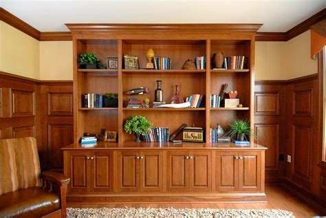 custom built  bookcases wall units walmer