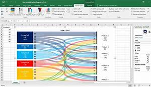 How To Draw Sankey Diagram In Excel