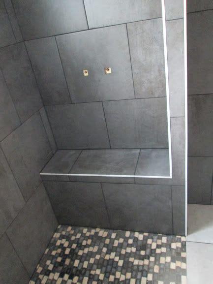 banc douche faience douche salle de bain  sdb
