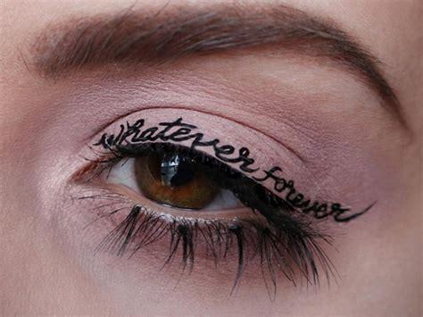 temporary tattoo eyeliner       obsessed
