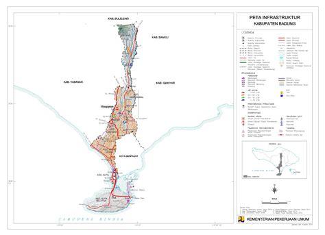 peta kota peta kabupaten badung