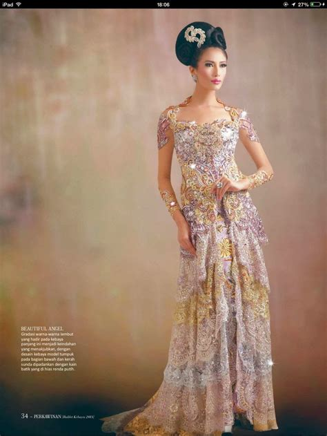 kebaya modern luxury international kebaya batik modern