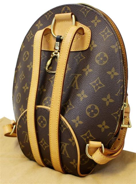 louis vuitton monogram canvas ellipse sac  dos backpack bag